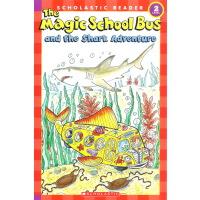 神奇校车 英文原版 Magic School Bus Science Readers And The Shark Ad
