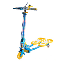 小丽明 三轮滑板车 儿童滑板车 蛙式 轮滑滑板童车XLM-903