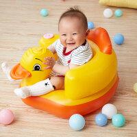 【特价】宝宝学座椅儿童充气小沙发婴儿音乐坐椅便携式餐椅浴凳
