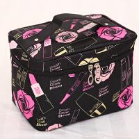 贴身衣物旅行收纳包 大号旅行大容量少女心化妆包社会女化妆箱便携简约收纳包收纳A