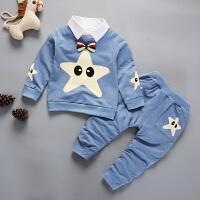 1-4周岁男童童装儿童长袖春秋宝宝婴幼儿休闲两件套装