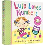 Lulu Loves Numbers 露露爱数学 露露系列纸板翻翻书 英文原版幼儿启蒙 露露大明星系列