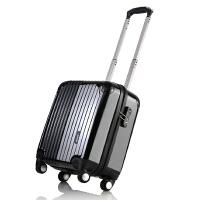 【可礼品卡支付】OSDY旅行箱17寸时尚登机箱 抗压耐磨ABS+PC材质 静音万向轮海关锁箱子A12