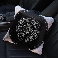 【品牌特惠】汽车护颈枕冬季毛绒车载车内用座椅头枕腰靠抱枕靠枕女