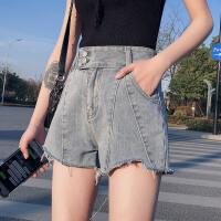 牛仔短裤女高腰显瘦2020年新款夏季外穿宽松a字2019阔腿ins热裤潮