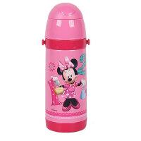 迪士尼  米妮保温杯吸管杯儿童水杯3409