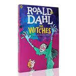 英文原版 Roald Dahl The Witches女巫 Roald Dahl 罗尔德达尔系列 儿童文学小说书籍