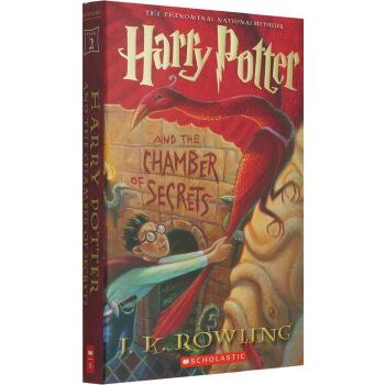 哈利波特与密室 2 英文原版 Harry Potter And The Chamber Of Secrets 第二部 J.K. Rowling 罗琳