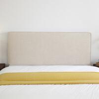定制北欧床头靠垫大靠背无床头榻榻米软包墙围布艺靠枕定做可拆洗定制