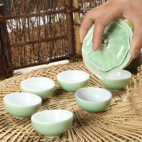 尚帝 功夫茶具套装  梅子青 青瓷功夫茶具140506-168DYPG