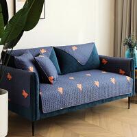 仙人掌 防滑沙发盖巾全棉布艺沙发垫 套罩坐垫 四季通用 可定制 仙人掌L