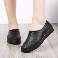 老北京布鞋女款单鞋春秋新款透气软底大码休闲鞋中老年妈妈鞋单鞋