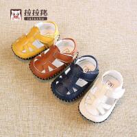 6-12个月婴儿宝宝学步凉鞋夏季婴儿宝宝软底鞋