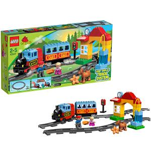 [当当自营]LEGO 乐高 duplo得宝系列 火车入门套装 积木拼插儿童益智玩具 10507