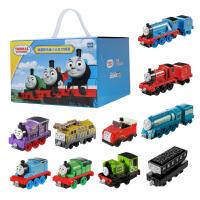 新年礼物 托马斯和朋友合金小火车10辆礼盒装 惯性滑行玩具车托马斯 经典-FJD58