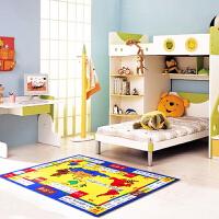 惠多休闲棋地毯 大富翁 100*130厘米儿童益智地毯地垫