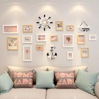像框架相框创意挂墙组合连体挂七寸照片墙相框墙摆台现代简约画框 组合套装