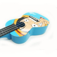 支持�到付款 Vorson 彩印 ukulele 尤克里里 ��氏议L �蹩他��� ukulele 小四弦��I音�� 夏威夷