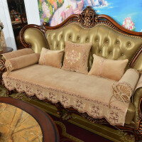 欧式沙发垫防滑坐垫夏季四季通用布艺美式做沙发套定制