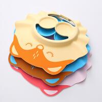 宝宝洗头护耳洗头帽可调节婴儿童小孩洗澡洗发帽浴帽