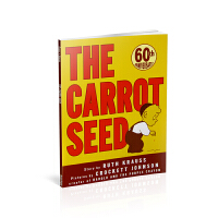 The Carrot Seed (60th Anniversary Edition)《胡萝卜种子(60周年纪念版)》 [平装]