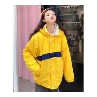 韩版宽松加厚棉袄女冬装新款双面穿面包服外套学生时尚棉衣潮