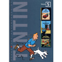 The Adventures of Tintin Vol.5 丁丁历险记合集5 ISBN 9780316358163