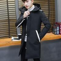中长款棉衣男士外套冬季2018新款潮流韩版冬装加厚棉袄男