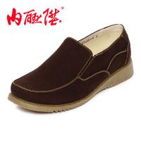 内联升男鞋布鞋时尚潮流休闲英伦男鞋 老北京布鞋 6321C