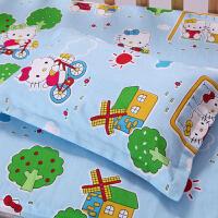全棉儿童枕卡通纯棉幼儿园学生加长枕芯宝宝婴儿小孩子枕头