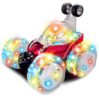 遥控车 儿童玩具车充电翻斗车翻滚特技车 儿童玩具礼物遥控汽车电动