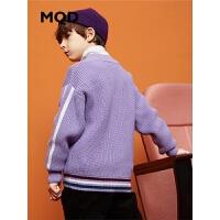 【1件3折:159】MQD童装男童2019冬加厚毛衣针织衫中大儿童保暖毛衣打底