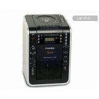 赠16G优盘+耳机+空白磁带!熊猫CD-450 教学扩音器 扩音机 DVD USB cd磁带复读机 麦克接口卡拉ok