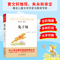 兔子坡 曹文轩推荐儿童文学经典书系