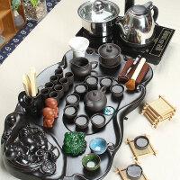 尚帝 弥勒实木茶盘-紫砂陶瓷茶具电热炉套装140506-354DYPG