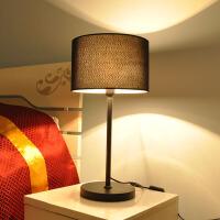 台灯卧室床头灯装饰客厅创意护眼LED节能喂奶温馨灯 按钮开关