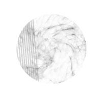圆形晶瓷画 轻奢北欧现代样板间别墅沙发背景挂画 画廊照片墙装饰画