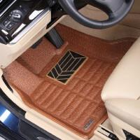宇森卡诺艾森皮沃尔沃XC60 V40 S60 S80英菲迪尼EX25/26 捷豹XJL XF汽车脚垫 大全包围皮革脚垫