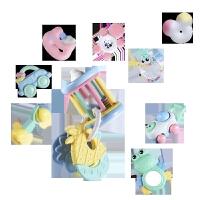 婴儿牙胶手摇铃玩具0-1岁宝宝婴幼儿玩具3-6-12个月 【12件套】牙胶摇铃 收纳盒装