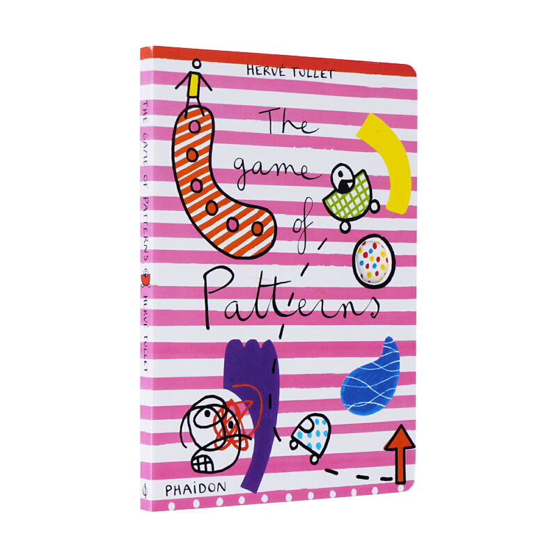 The Game of Patterns 形状乐园找不同 英文原版 Herve Tullet 埃尔维·杜莱百变创意玩具书