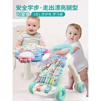 婴儿学步车多功能防侧翻学走路6-12个月男宝宝小女孩助步车手推车