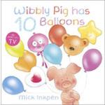 Wibbly Pig has ten balloons 小猪威比:威比的10只气球 ISBN9781444902679
