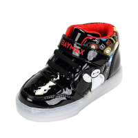 Daphne/达芙妮鞋柜童鞋 男童儿童保暖棉鞋休闲鞋男童加绒运动鞋-tx