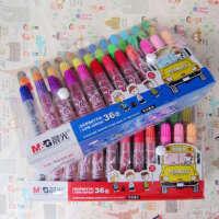开学必备文具 创意文具晨光文具 米菲36色盒装儿童水彩笔FCP90174儿童彩色笔