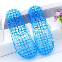 限时特价浴室拖鞋 漏水 防滑 夏 男 女 脚底 足底 穴位按摩器凉拖鞋按摩鞋