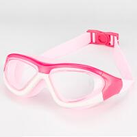男女童泳帽泳镜套装游泳装备儿童泳镜男女儿童高清游泳眼镜