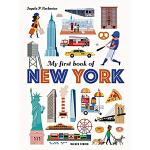 My First Book of New York 我的第一本纽约之书 英文原版儿童绘本