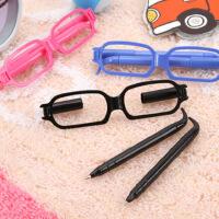 开学必备文具 眼镜笔 眼镜框造型圆珠笔 可爱 卡通 学生 个性 笔 韩国创意文具