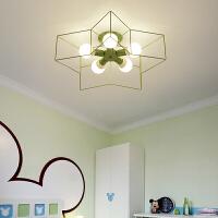 简约创意北欧居家灯饰现代个性卧室led吸顶灯儿童房客厅餐厅灯具