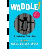A Scanimation Book: Waddle! 神奇动画书:摇摆 ISBN9780761151128